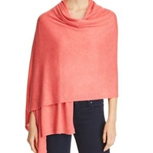Echo Everyday Lightweight Knit Scarf Wrap Coral